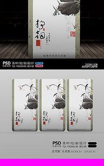 中国风茶包装内袋设计 PSD