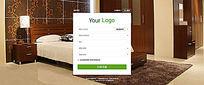 房地产注册网页设计 PSD
