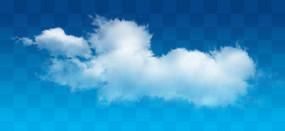 白色的云朵素材