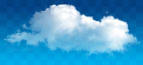 饱满的云朵素材
