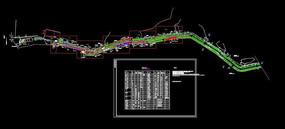 滨水公园绿化平面图
