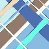 蓝灰色彩色线条背景素材