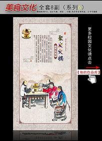 美食文化火锅篇之聚友火锅展板