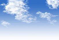 层层白云PSD PSD