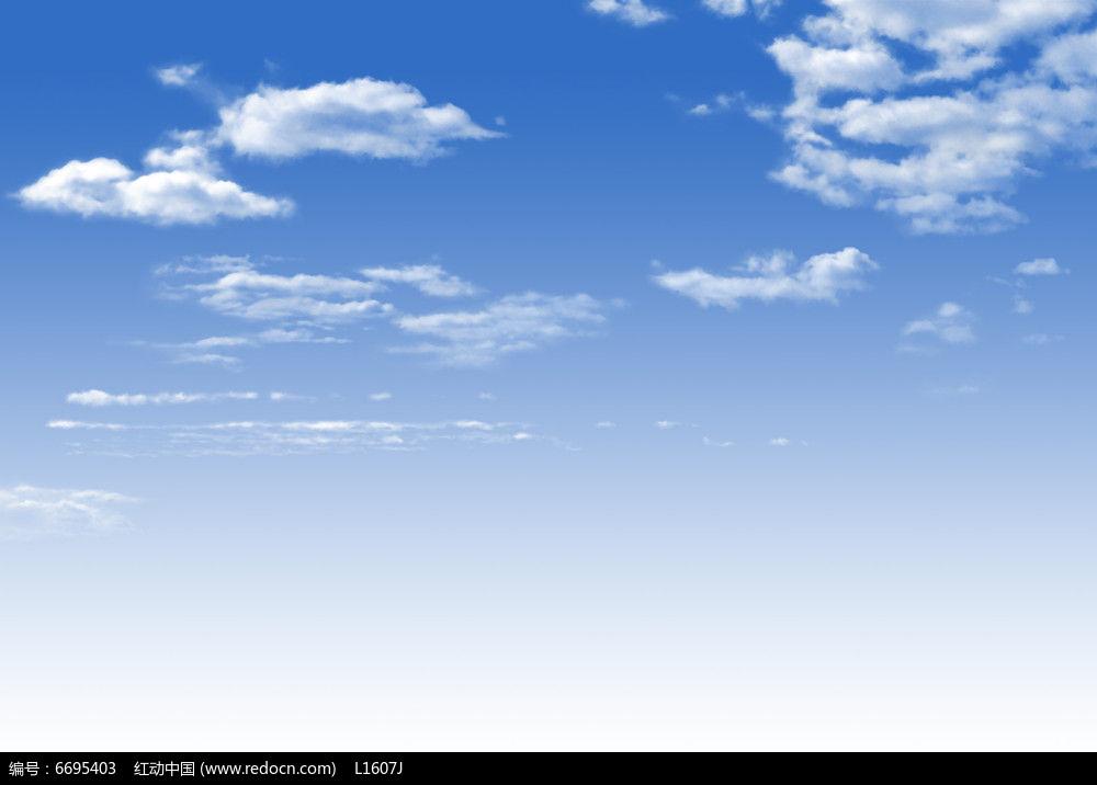 层层白云ps素材psd素材下载_手绘素材设计图片