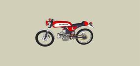 常用男式摩托