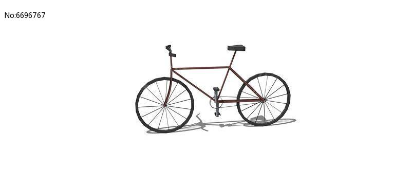 经典自行车模型
