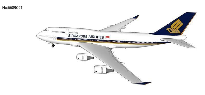 民航飞机模型素材下载