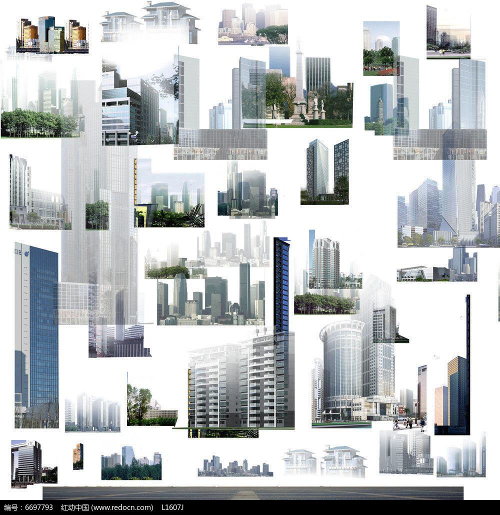 原创设计稿 方案意向 手绘素材 现代建筑背景贴图psd  请您分享: 素材