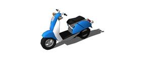 小毛炉摩托模型