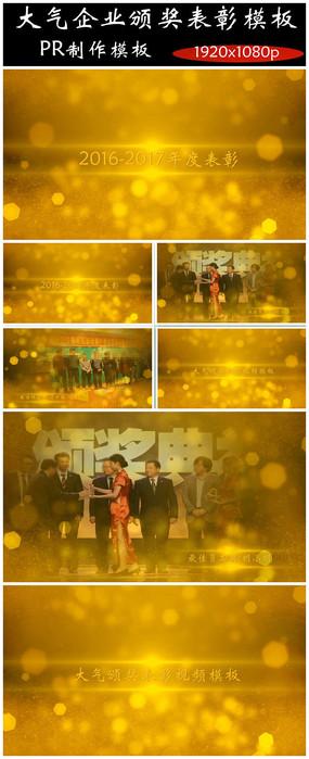 大气PR企业颁奖表彰视频模板年度人物颁奖视频