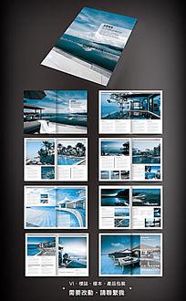 旅游画册素材设计