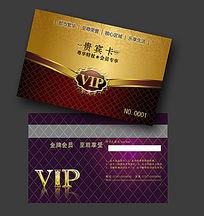 高档VIP贵宾卡名片