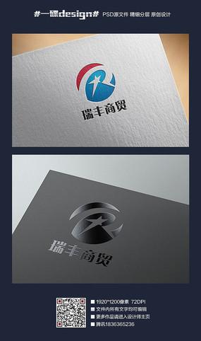 R字母商业logo
