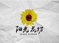 清新花店logo