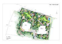 别墅庭院景观设计平面素材
