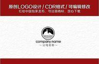 景区logo CDR