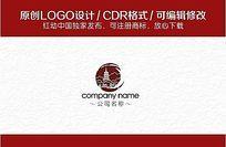 中国风logo CDR