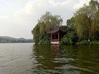 中式景观亭子意向图