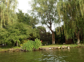 自然石头水岸