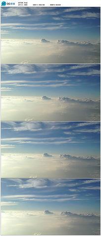 高清蓝天白云实拍视频