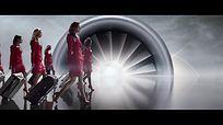 航空公司企业宣传片视频素材