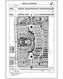花园住宅小区总平面图