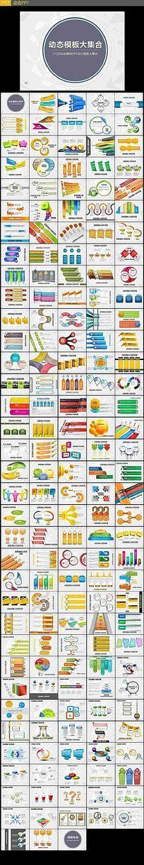 商务动态PPT图表集合