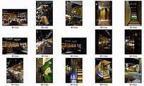 古朴风格某湘江餐厅室内装修