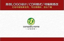 金融公司行业LOGO CDR