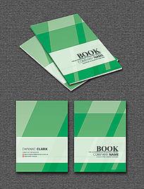 绿色现代条纹时尚封面