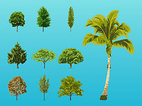 植物素材图PSD PSD