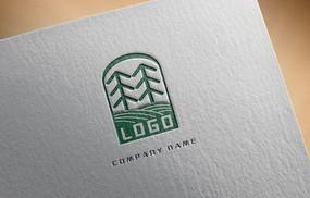 绿色农业logo