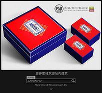 燕窝亚克力木盒包装设计平面分层图片素材