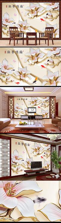 中式风格电视背景墙