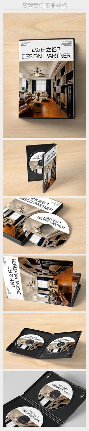 六款多角度光盘及光盘盒展示样机