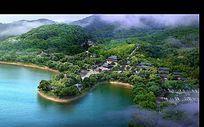 生态度假小镇景观设计PS素材