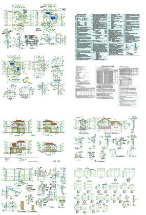 别墅建筑楼CAD图