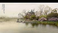 滨河水景效果图