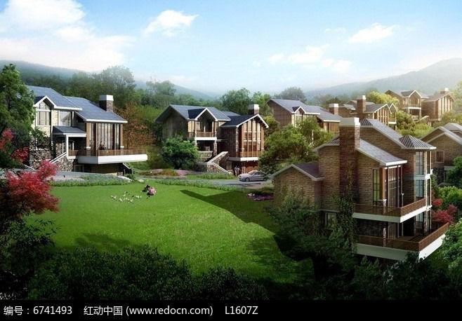 原创设计稿 方案意向 其它 郊外别墅群  请您分享: 素材描述:红动网图片