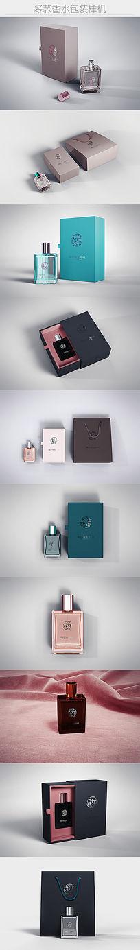 12款大气香水化妆品包装展示样机