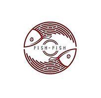 太极鱼锅logo AI