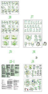 CAD别墅图纸