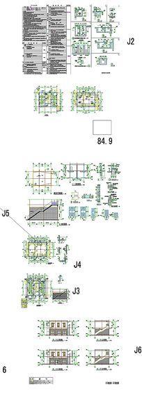 电房电力CAD图纸 dwg