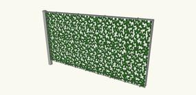绿色植物墙SU