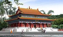 寺庙设计图 JPG