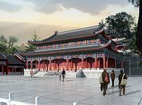 寺院规划设计图 JPG