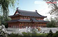 寺院效果图 JPG