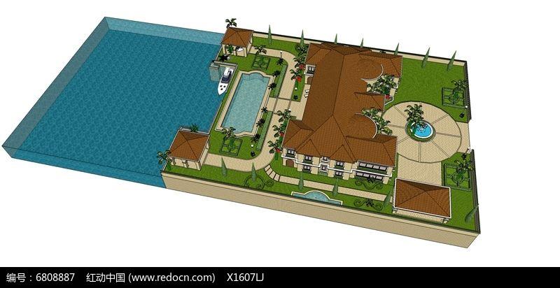 欧式滨海度假别墅图片