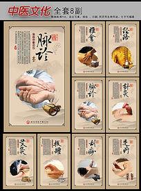 中医文化挂图经络展板设计